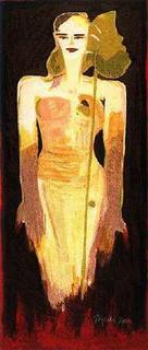 Women / Papyrus by Elvira Bach