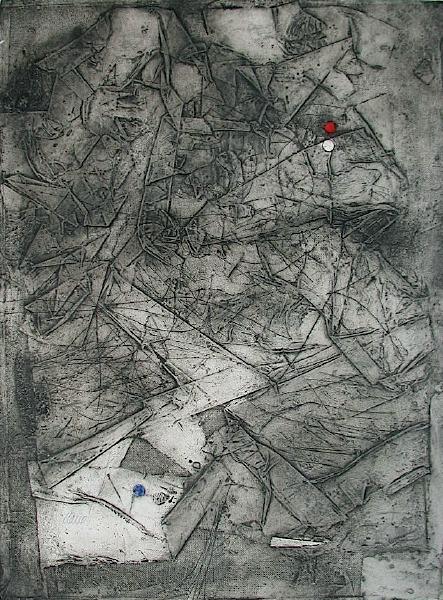 Composition VI by Antoni Clavé