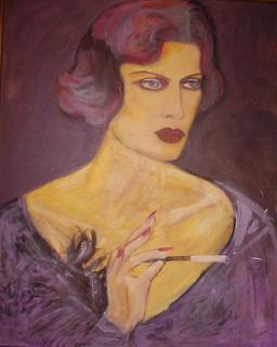 Femmes Fatales Series: Aurora by Pilar Bamba Gastardi