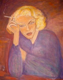 Femmes Fatales Series: Marlene by Pilar Bamba Gastardi