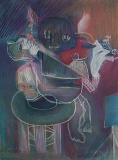 La Souris et le Fromage by Julio Pomar