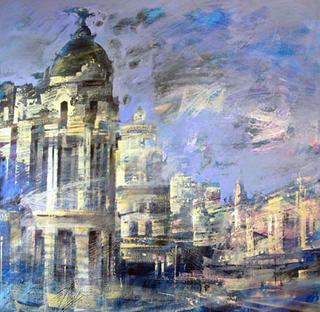 Metropolis by Cristina Bergoglio