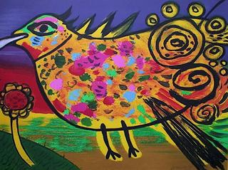 Arc Bird in the Sky by Corneille