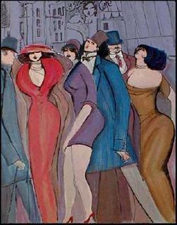 Die Parade II by David Schneuer