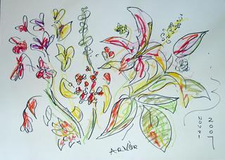 Untitled (Floral Still Life 2) by Arnor Bieltvedt