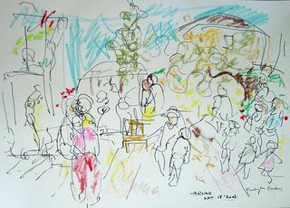 Untitled (Huntington Garden 1) by Arnor Bieltvedt