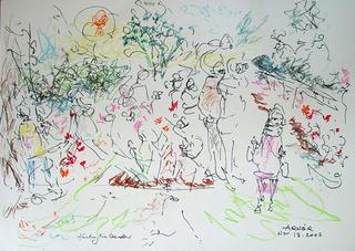 Untitled (Huntington Garden 2) by Arnor Bieltvedt