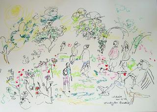 Untitled (Huntington Garden 3) by Arnor Bieltvedt