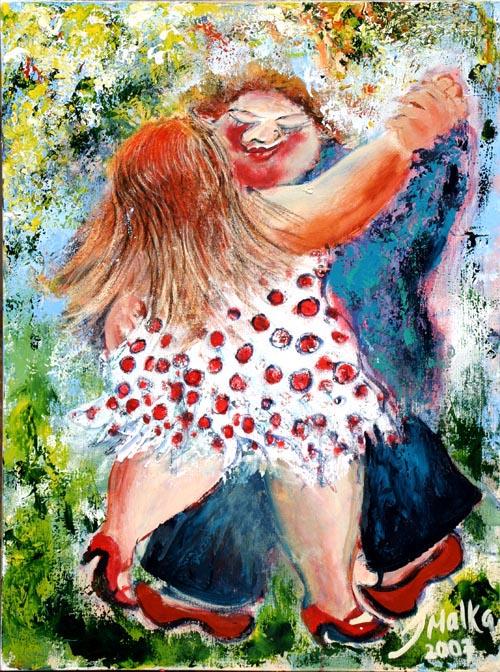 Pleasures of Dance - 5 by Malka Tsentsiper