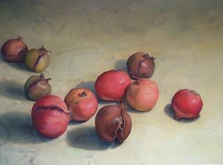 Pomegranates by Pablo Carnero