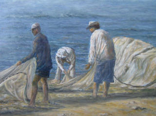 The Fishing by Milagros Nuñez Risso