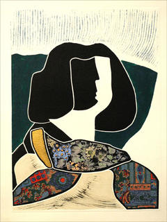 Old Menina (serious) by Luis Yngüanzo