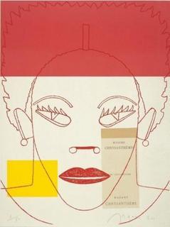 Madame Crysantheme by Eduardo Arroyo