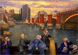 Waterloo's Bridge by Manuel Alcorlo