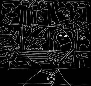 Black+Little Monkey by Cid Soard