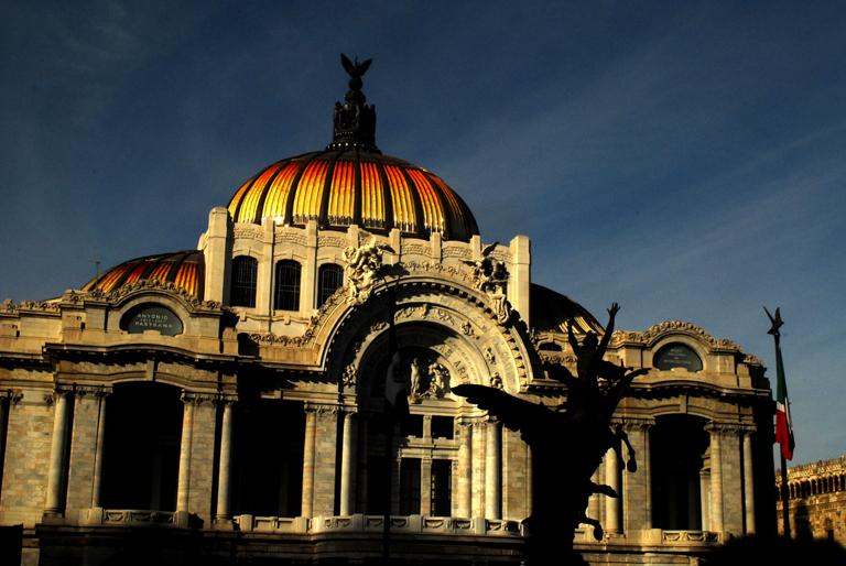A0 Untitled 03 Palacio de Bellas Artes, México D.F. by Anya Bartels-Suermondt