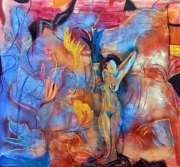 Alone Woman by Soledad Fernández
