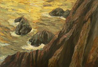 Cliff III by Juan Domínguez Jiménez