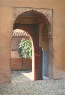 Alhambra II by Carlos Marijuan