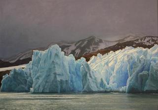 Grey Glacier I by Carlos Marijuan
