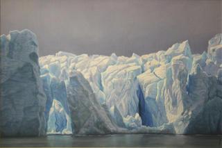 Grey Glacier II by Carlos Marijuan