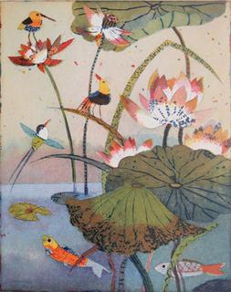 Sommerteich (Summer Pond) by Jutta Votteler