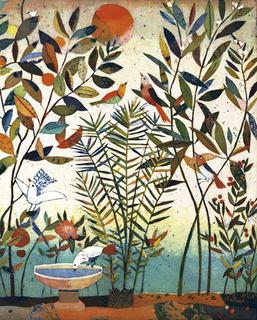 Vogelgetranke (Bird Drinks) by Jutta Votteler