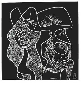 La mer est toujours présente - 02 by Le Corbusier
