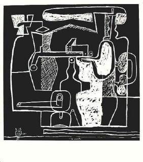 La mer est toujours présente - 05 by Le Corbusier