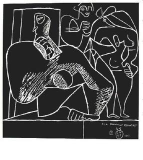 La mer est toujours présente - 07 by Le Corbusier