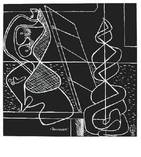 La mer est toujours présente - 09 by Le Corbusier