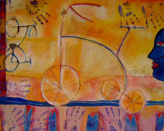 The Efrain's Tricycle by Jaime Lupercio