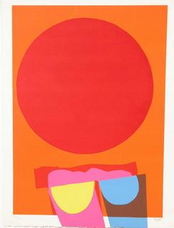 Circle by Luis Feito