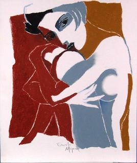 Grey Nude by Ernesto Maguiña Gómez