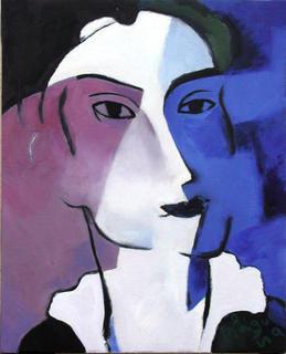 Violet by Ernesto Maguiña Gómez