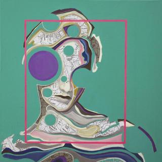 Retroprogressive Portrait  1 by Carmelo L. Canales