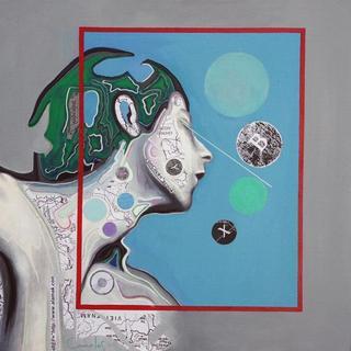 Retroprogressive Portrait   2 by Carmelo L. Canales