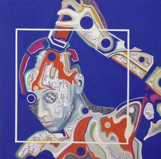 Retroprogressive Portrait  3 by Carmelo L. Canales