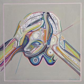 Retroprogressive Portrait  4 by Carmelo L. Canales