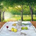 Breakfast in the Garden by Luis Cohen Fusé
