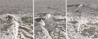 Grey Triptych by Eduardo Sanz