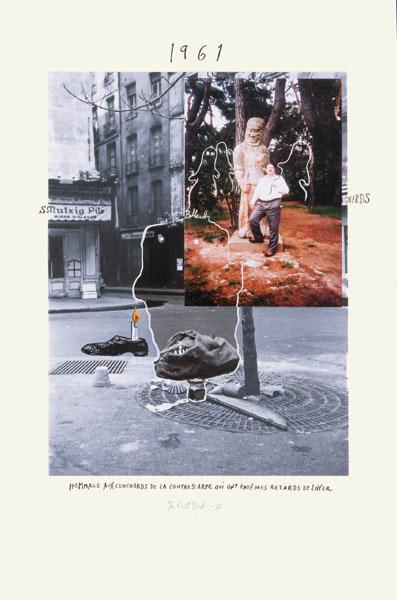 Hommage aux clochards de la Contrescarpe by Erik Dietman