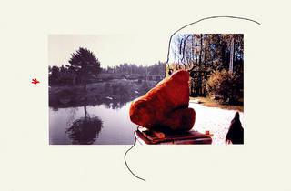 Je suis rond comme une bille by Erik Dietman