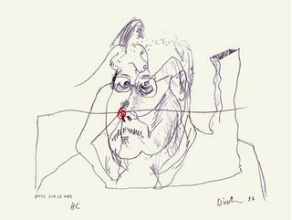 Poils sur le nez by Erik Dietman