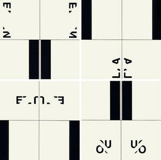 LA-ET-OU-EN (4 prints) by Peter Downsbrough