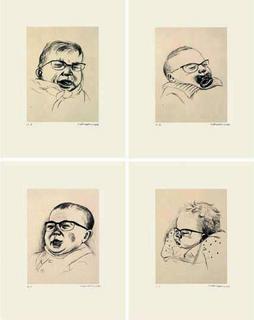 Derain Marquet Dufy Vlaminck (4 prints) by Jacques Flechemuller
