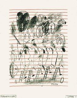 Lettre n°1 by Jacques Flechemuller
