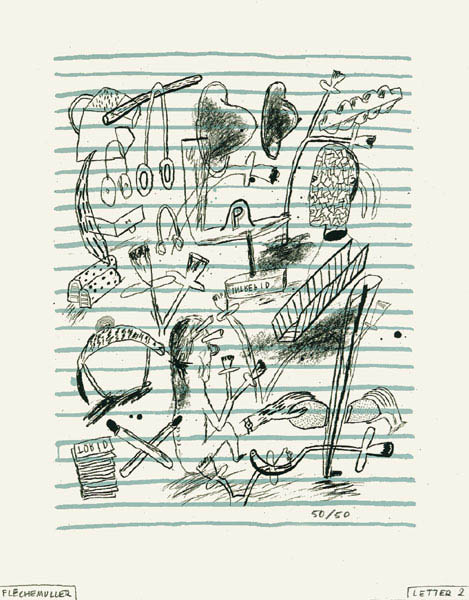 Lettre n°2 by Jacques Flechemuller