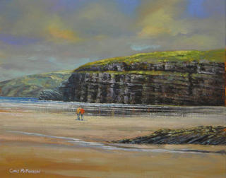 Ballybunion Beach by Chris McMorrow