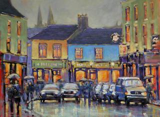 Listowel Street Scene by Chris McMorrow